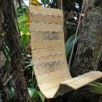 Φτιάξτε μια υπέροχη κρεμαστή καρέκλα απο παλέτα και κορδόνι !!!