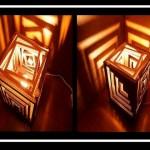DIY: Φτιάξε φωτιστικό από χαρτόνι!
