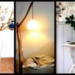 Πως να διακοσμήσεις το σπίτι σου οικονομικά με κλαδιά δέντρου