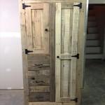 Ντουλάπα από σανίδες παλέτας (Οδηγίες) (Pallet Cabinet for Storage)