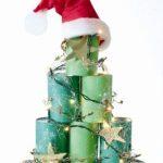 Διακοσμητικό Χριστουγεννιάτικο Δέντρο από Κονσέρβες